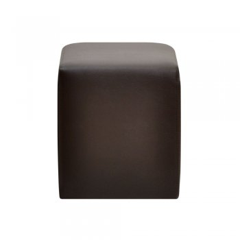 Tower Poef Donker Taupe 32x32cm